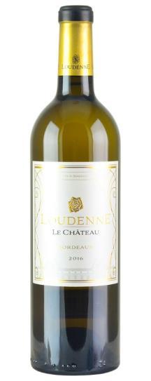 2016 Chateau Loudenne Bordeaux Blend Blanc