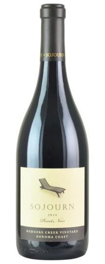 2018 Sojourn Cellars Pinot Noir Rodgers Creek Vineyard