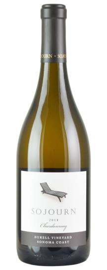 2018 Sojourn Cellars Chardonnay Durell Vineyard