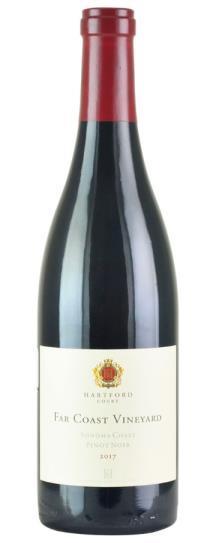 2017 Hartford Court Pinot Noir Far Coast Vineyard