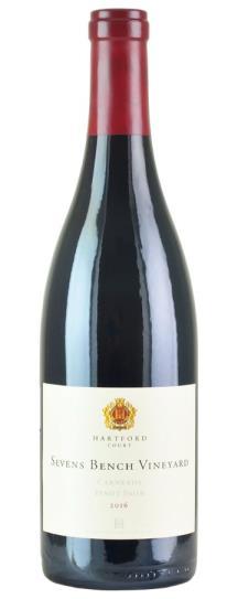 2016 Hartford Court Pinot Noir Sevens Bench Vineyard