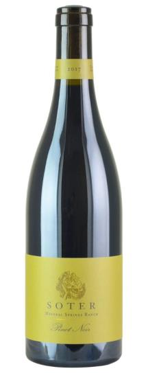 2018 Soter Pinot Noir Mineral Springs Ranch
