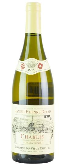 2015 Daniel-Etienne Defaix Chablis Vieilles Vignes