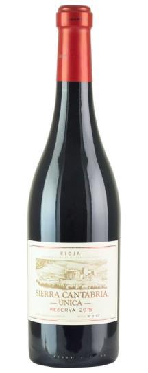 2015 Bodegas Sierra Cantabria Rioja Reserva Unica