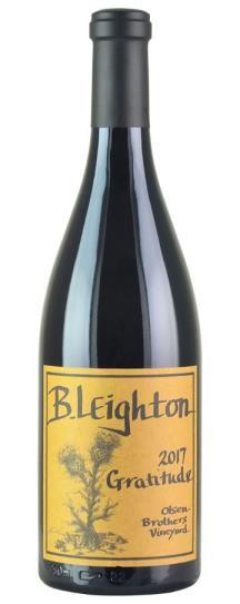 2017 B. Leighton Wines Olsen's Brothers Vineyard Gratitude