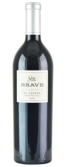 2018 Mt. Brave Mount Veeder Cabernet Sauvignon
