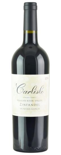 2018 Carlisle Winery Zinfandel Montafi Ranch Russian River Valley