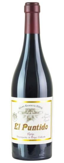 2007 Vinedos De Paganos El Puntido Rioja Gran Reserva