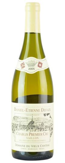 2006 Daniel-Etienne Defaix Chablis 1er Cru Vaillon