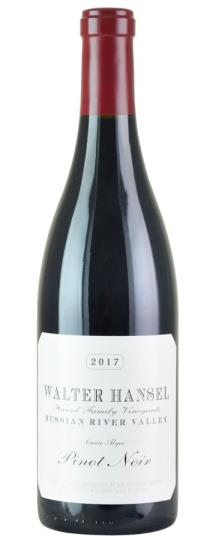 2017 Walter Hansel Winery Pinot Noir Cuvee Alyce