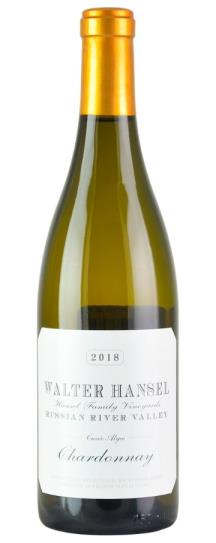 2018 Walter Hansel Winery Chardonnay Cuvee Alyce