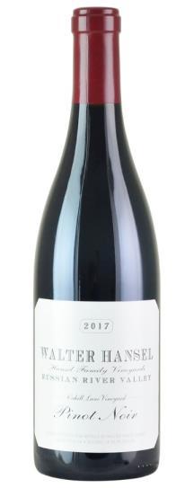 2017 Walter Hansel Winery Pinot Noir Cahill Lane