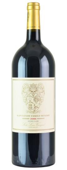 2006 Kapcsandy Family Winery Cabernet Sauvignon Estate Cuvee