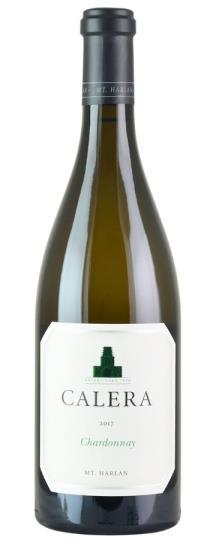 2017 Calera Chardonnay Mt Harlan