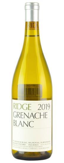 2019 Ridge Vineyards Grenache Blanc
