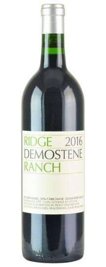 2016 Ridge Vineyards Demostene