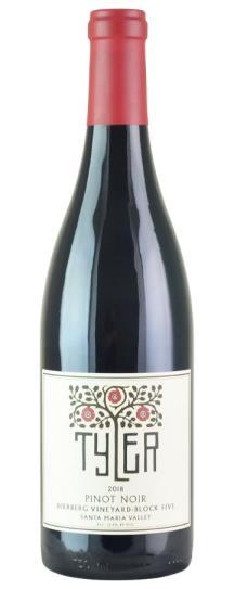 2018 Tyler Dierberg Block Five Pinot Noir