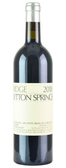 2018 Ridge Lytton Springs Proprietary Red Wine