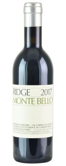 2017 Ridge Monte Bello