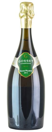 2012 Gosset Grand Millesime Vintage Brut