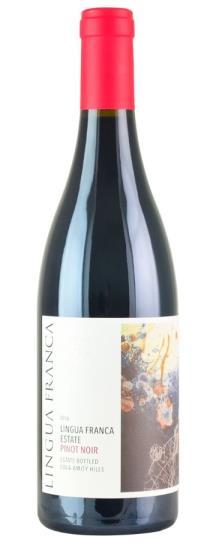 2016 Lingua Franca Estate Eola-Amity Hills Pinot Noir