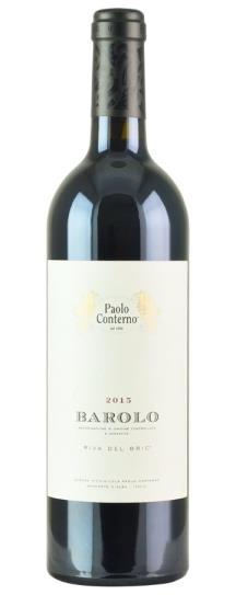 2015 Paolo Conterno Barolo Riva del Bric