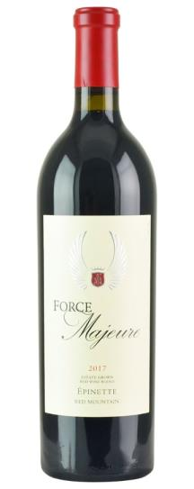 2018 Force Majeure Epinette Red Blend