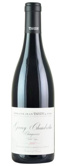2017 Domaine Jean Tardy Gevrey Chambertin Champerrier VV