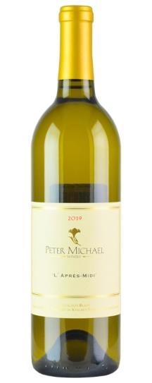 2019 Peter Michael Winery Sauvignon Blanc l'Apres Midi