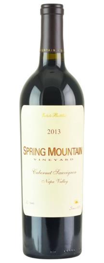 2013 Spring Mountain Vineyard Cabernet Sauvignon