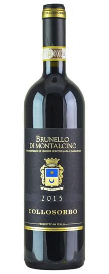 2015 Collosorbo Brunello di Montalcino