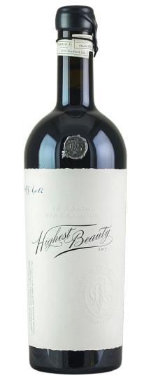 2017 To Kalon Wine Co. Highest Beauty Cabernet Sauvignon