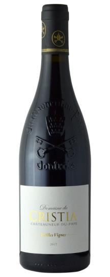 2017 Domaine de Cristia Chateauneuf du Pape Vieilles Vignes