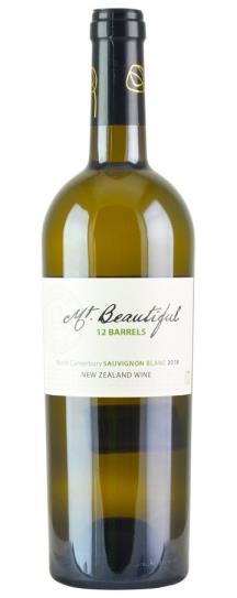 2018 Mt. Beautiful 12 Barrels Sauvignon Blanc