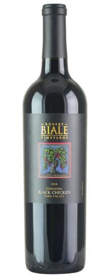 2018 Robert Biale Vineyards Zinfandel Black Chicken Vineyard