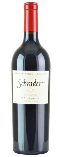 2018 Schrader Cellars Cabernet Sauvignon Beckstoffer To Kalon Vineyard