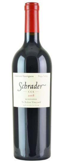 2018 Schrader Cellars Cabernet Sauvignon CCS Beckstoffer To Kalon Vineyard