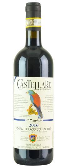 2016 Castellare di Castellina Chianti Classico Riserva Il Poggiale