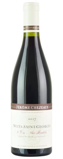 2017 Jerome Chezeaux Nuits St Georges Aux Boudots