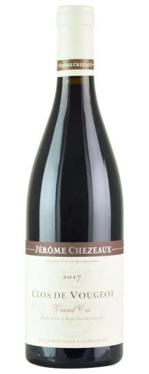 2017 Jerome Chezeaux Clos Vougeot