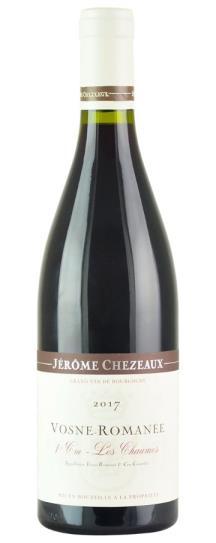 2017 Jerome Chezeaux Vosne Romanee les Chaumes