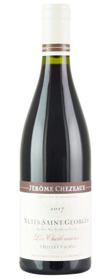 2017 Jerome Chezeaux Nuits-Saint-Georges Les Charbonnieres Vieilles Vignes