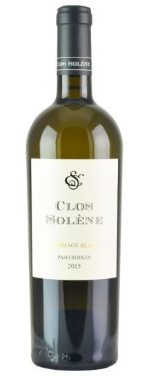 2015 Clos Solene Hommage Blanc