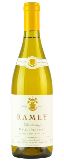 2017 Ramey Chardonnay Ritchie Vineyard