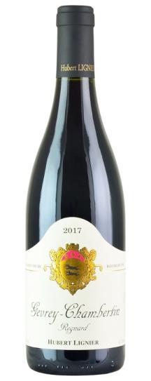 2017 Domaine Hubert Lignier Gevrey Chambertin