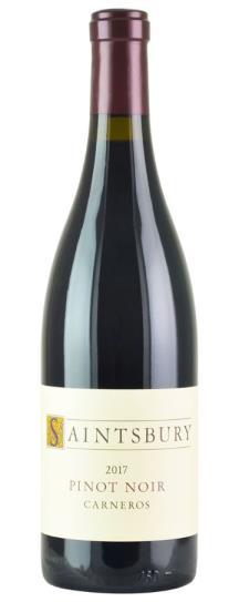 2017 Saintsbury Pinot Noir Carneros