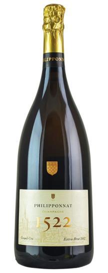 2012 Philipponnat Extra Brut Champagne Cuvee 1522