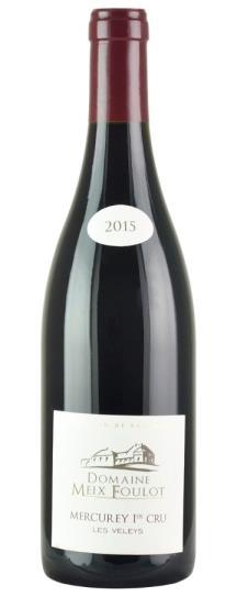2015 Domaine Meix-Foulot Mercurey les Veleys