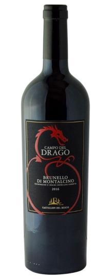 2016 Castiglion del Bosco Brunello di Montalcino Campo del Drago