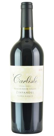 2018 Carlisle Winery Zinfandel Papera Ranch